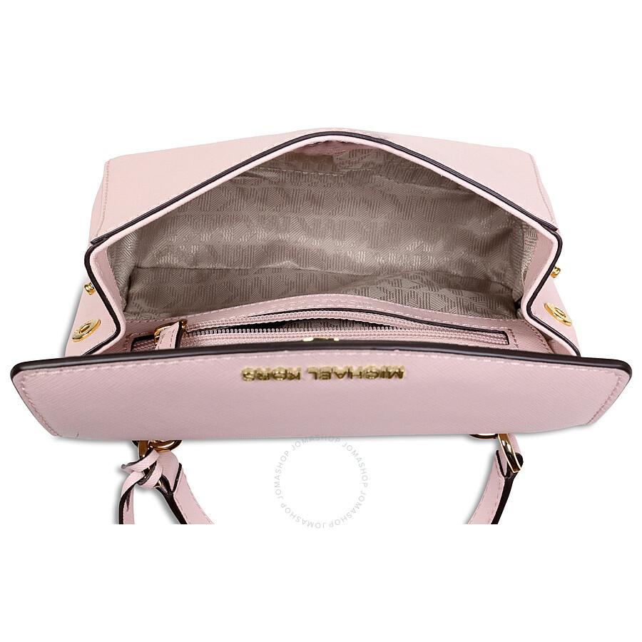 41c7487e93b788 Michael Kors Ava Extra Small Saffiano Leather Crossbody - Blossom ...