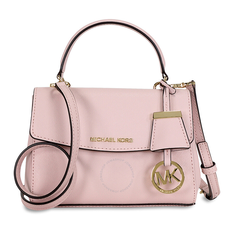 1f6fcc9f27a279 Michael Kors Ava Extra Small Saffiano Leather Crossbody - Blossom Item No.  32F5GAVC1L-656