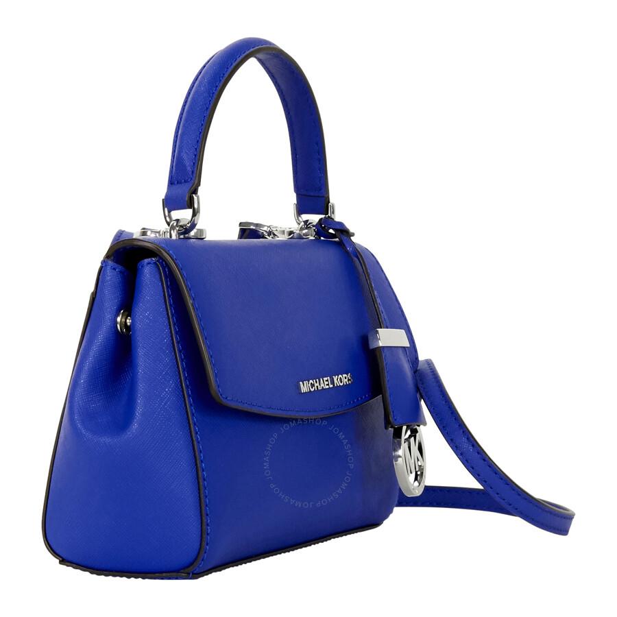 ed2e31752 Michael Kors Ava Extra-Small Saffiano Leather Crossbody - Electric Blue