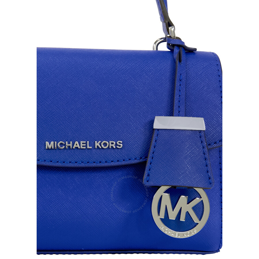 8b766cf0a53a Michael Kors Ava Extra-Small Saffiano Leather Crossbody - Electric Blue