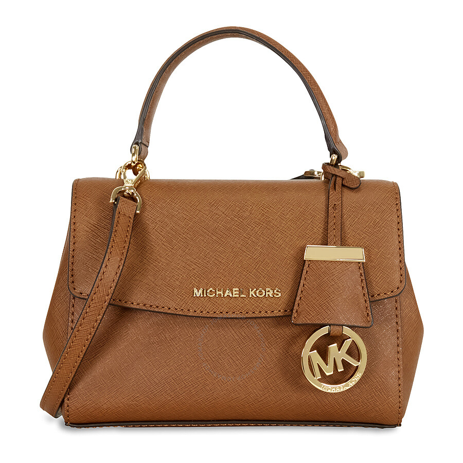 5bf93ff691f49 Michael Kors Ava Extra Small Saffiano Leather Satchel - Luggage ...