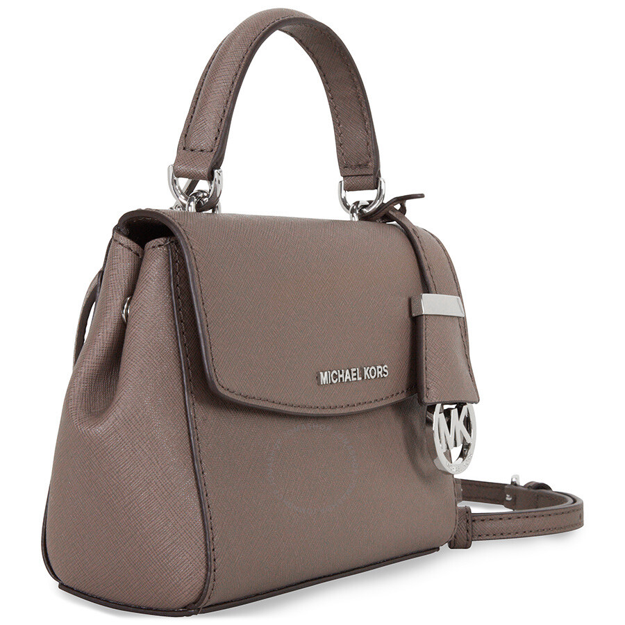 066de9f41ae1 Michael Kors Ava Extra-Small Saffiano Leather Crossbody - Cinder ...