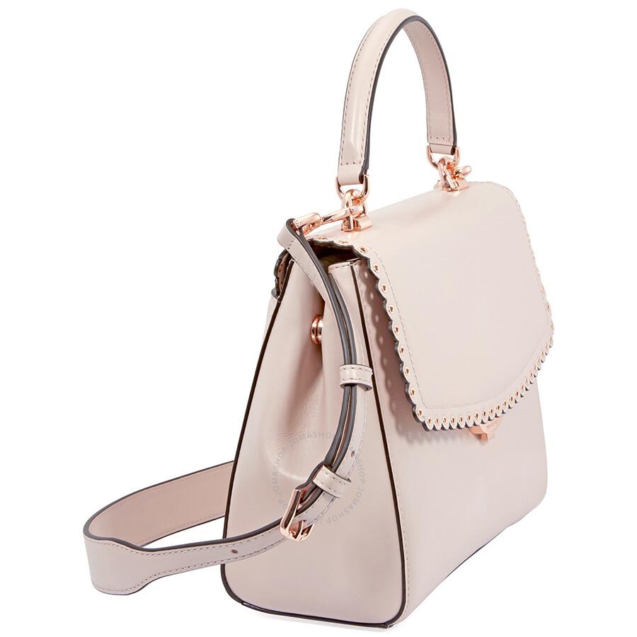 2dcafc368f239 Michael Kors Ava Medium Leather Satchel- Soft Pink
