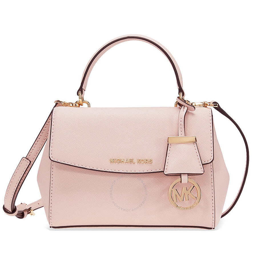 70fd3e011378 Michael Kors Ava Extra Small Crossbody Bag- Soft Pink Item No.  32F5GAVC1L-187