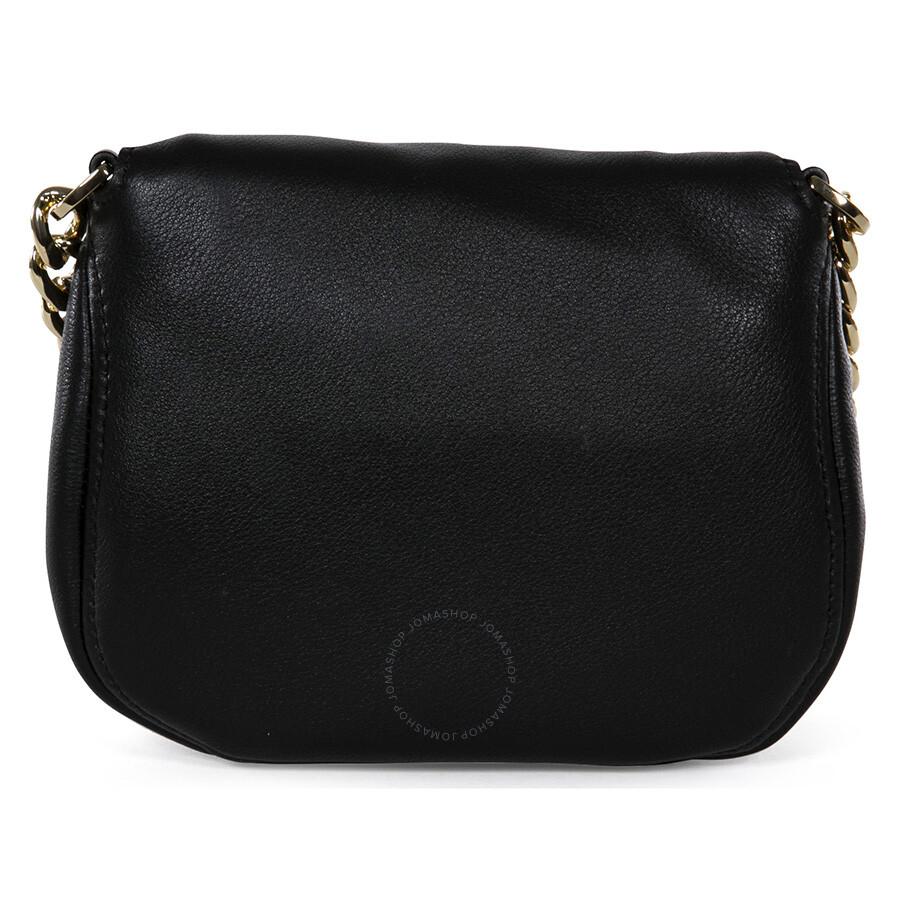 01eb93c4959e Michael Kors Bedford Flap Black Leather Crossbody Bag Item No.  32S4GBFC2L-001
