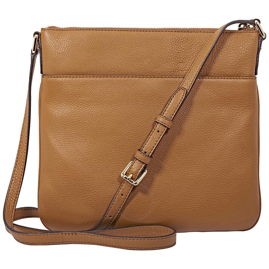 169942023c03 Michael Kors Bedford Flat Crossbody Bag- Acorn - Bedford - Michael ...
