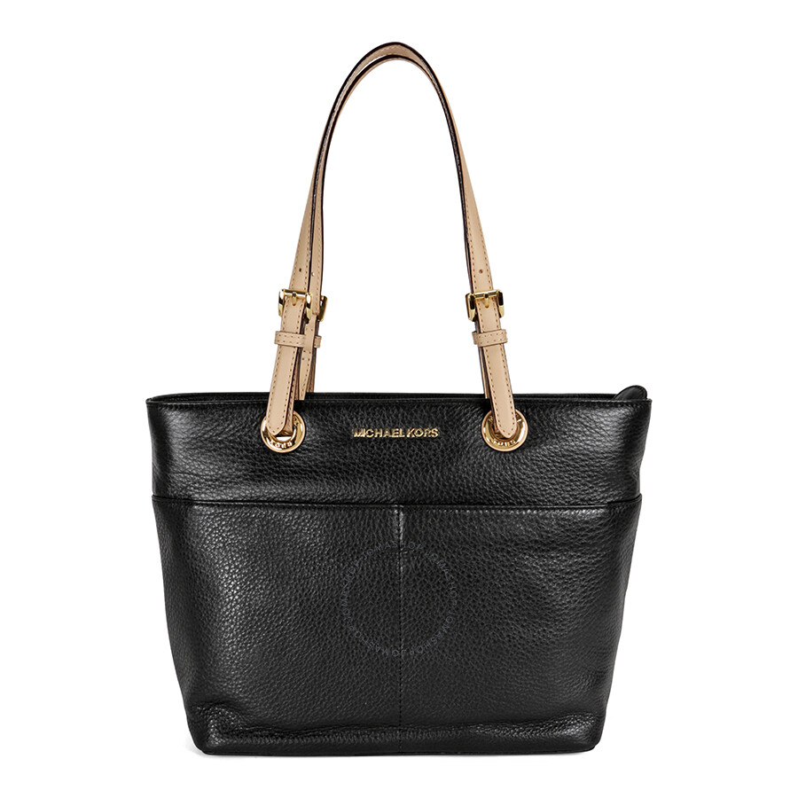 Michael Kors Bedford Leather Tote Black