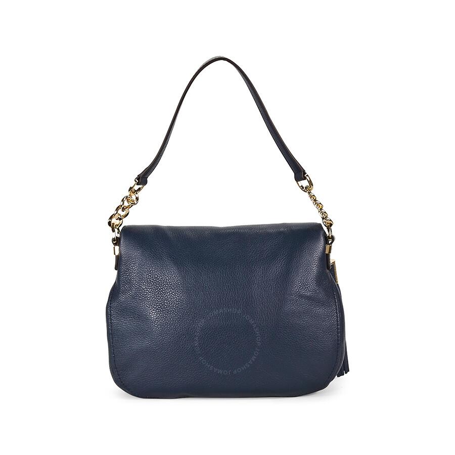 e8b5849a981f7 michael kors bedford satchel navy sale   OFF60% Discounted