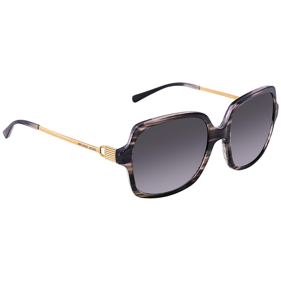 774b1af2e4 Michael Kors Bia Grey Gradient Square Ladies Sunglasses MK2053-328911-56 ...