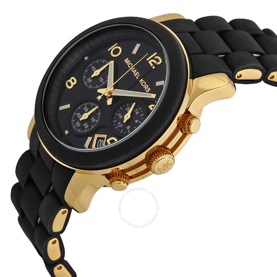Michael Kors Black Catwalk Chronograph Watch MK5191 Michael Kors Black  Catwalk Chronograph Watch MK5191 ...