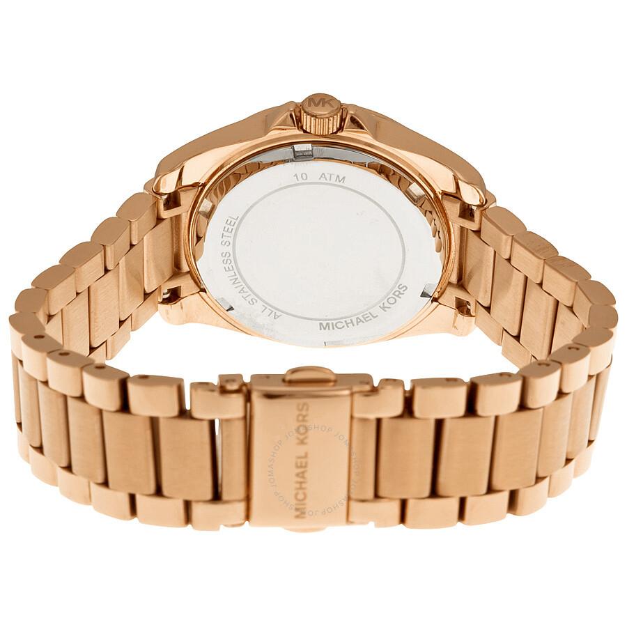 a8c03a1d23d1 ... Michael Kors Blair Multi-Function Rose Gold-tone Ladies Watch MK5613 ...