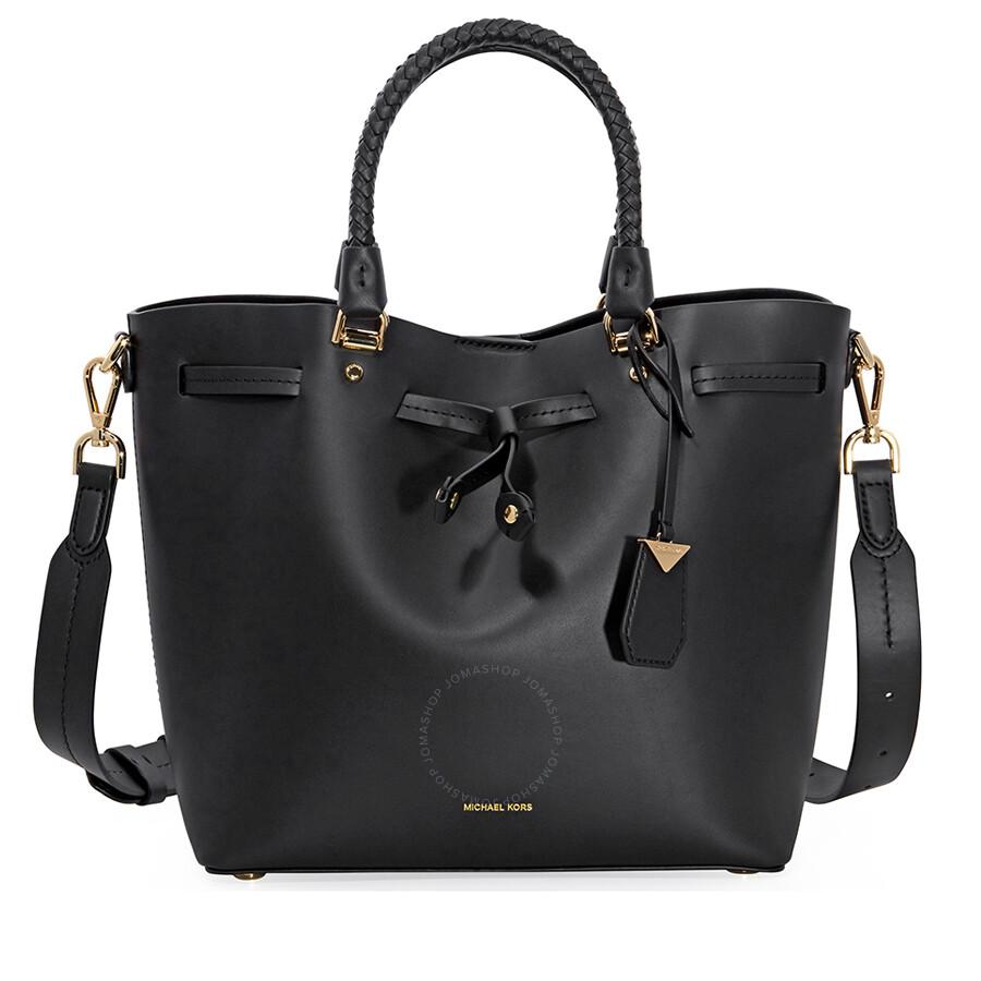 f099c49855c2 Michael Kors Blakely Medium Bucket Bag- Black - Michael Kors ...