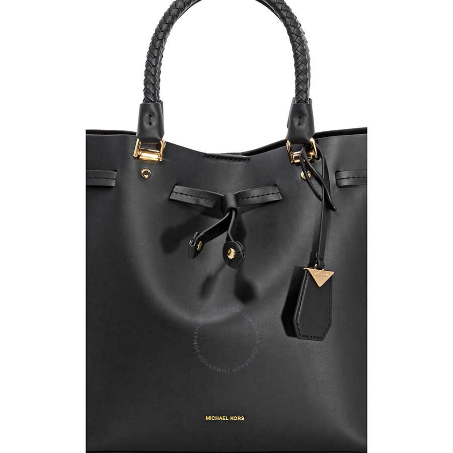 2b5c252283fc Michael Kors Blakely Medium Bucket Bag- Black Item No. 30S8GZLM2L-001