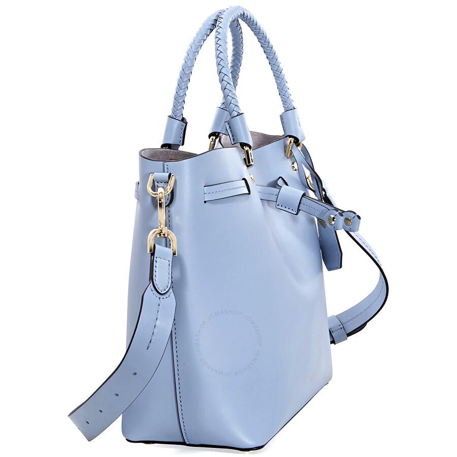 4e79aa5991836 Michael Kors Blakely Medium Bucket Bag- Pale Blue - Michael Kors ...