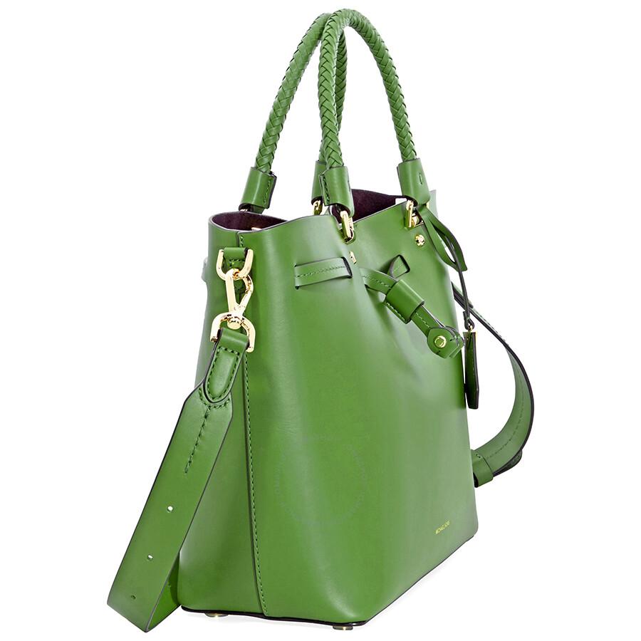 0de89b595d4b10 Michael Kors Blakely Medium Bucket Bag- True Green - Michael Kors ...