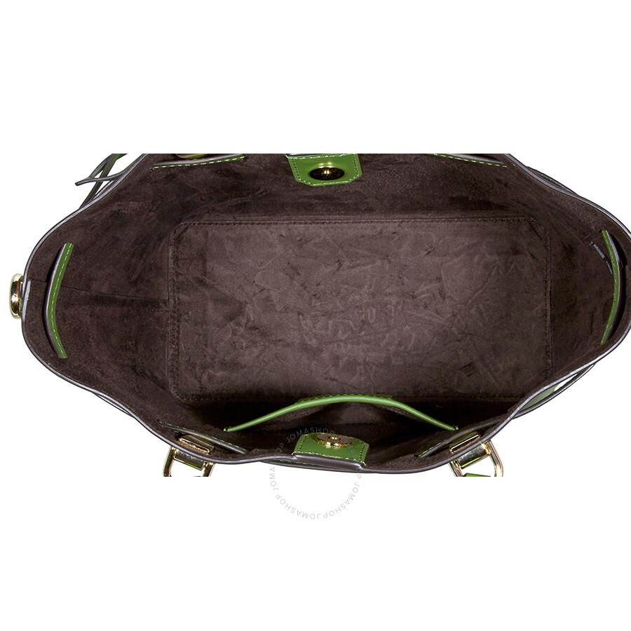 d3420a7ed3a1 Michael Kors Blakely Medium Bucket Bag- True Green - Michael Kors ...