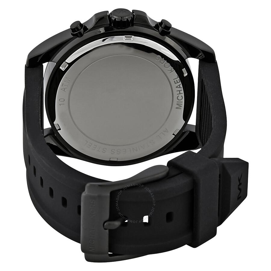 dd6eef2ff43e Michael Kors Bradshaw Black Dial Men s Chronograph Watch MK8560 ...