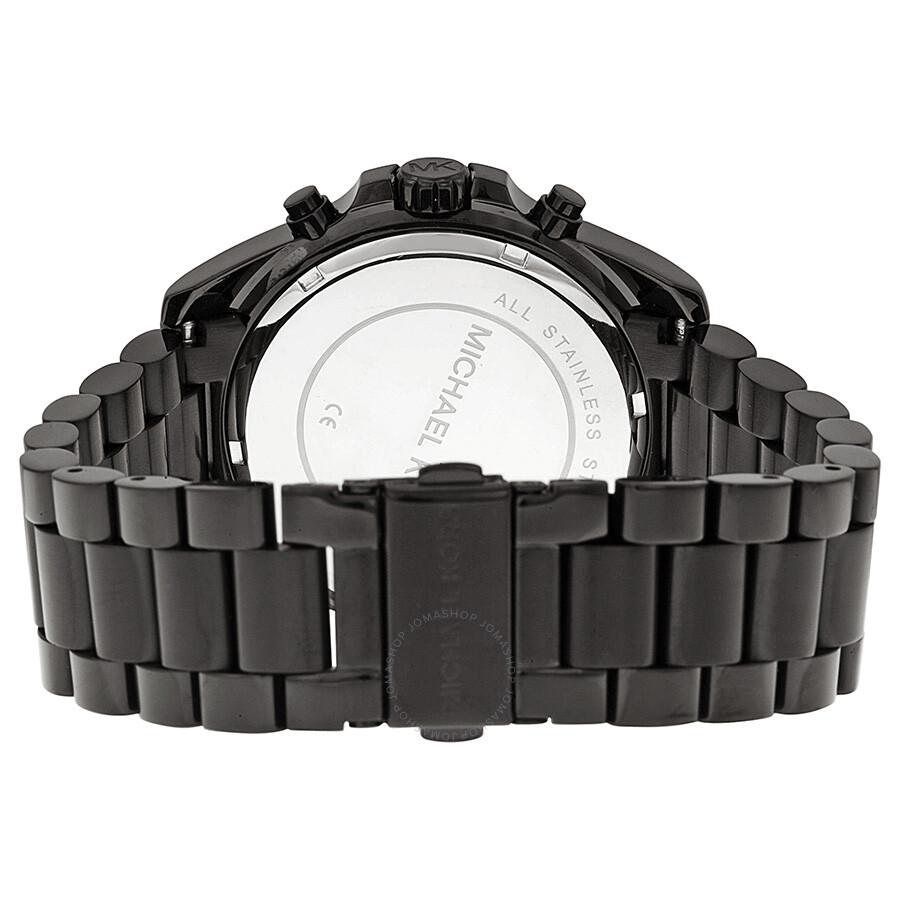 d7dbd1988d93 ... Michael Kors Bradshaw Chronograph Black Dial Unisex Watch MK5550 ...