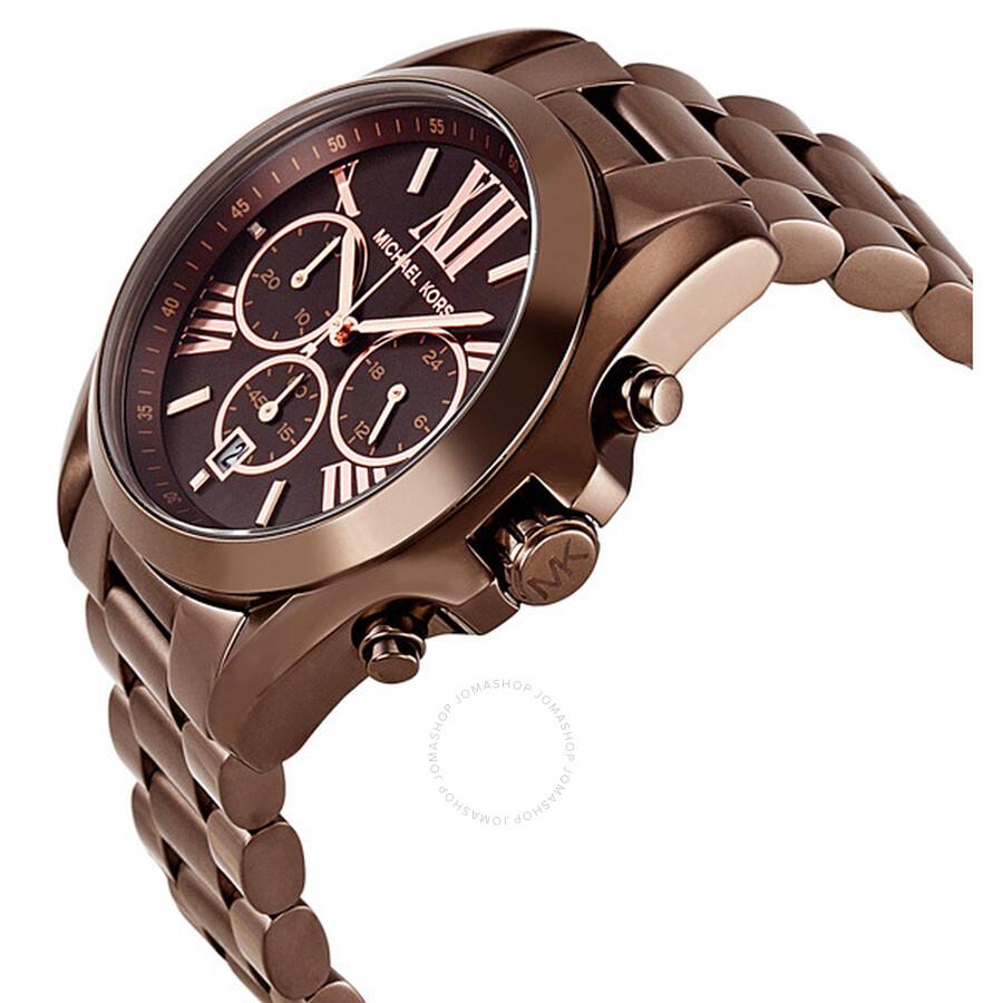 ... Michael Kors Bradshaw Chronograph Espresso Unisex Watch MK5628 ... d46e628a3b