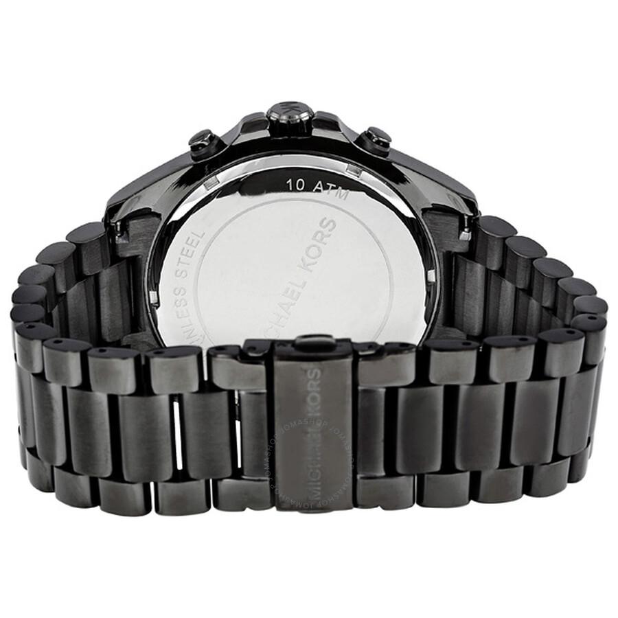 f4b0ceccb9f0 ... Michael Kors Bradshaw Chronograph Gunmetal Ion-plated Men s Watch MK8255
