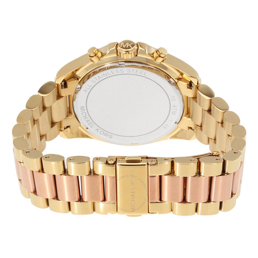d6ec677c3b8d Michael Kors Bradshaw Chronograph Ladies Watch MK6359 - Bradshaw ...