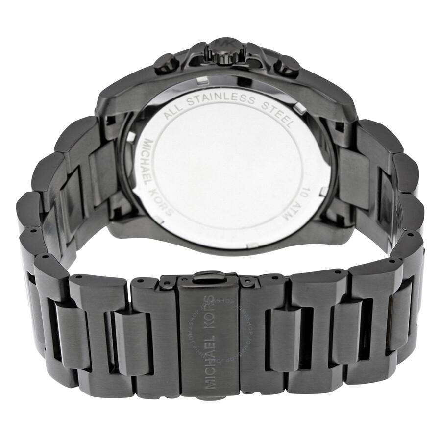 6533ba967eb9 Michael Kors Brecken Chronograph Grey Dial Men s Watch MK8465 ...