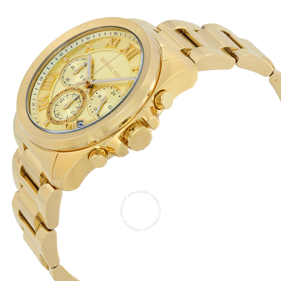 Michael Kors Brecken Chronograph Ladies Watch MK6366