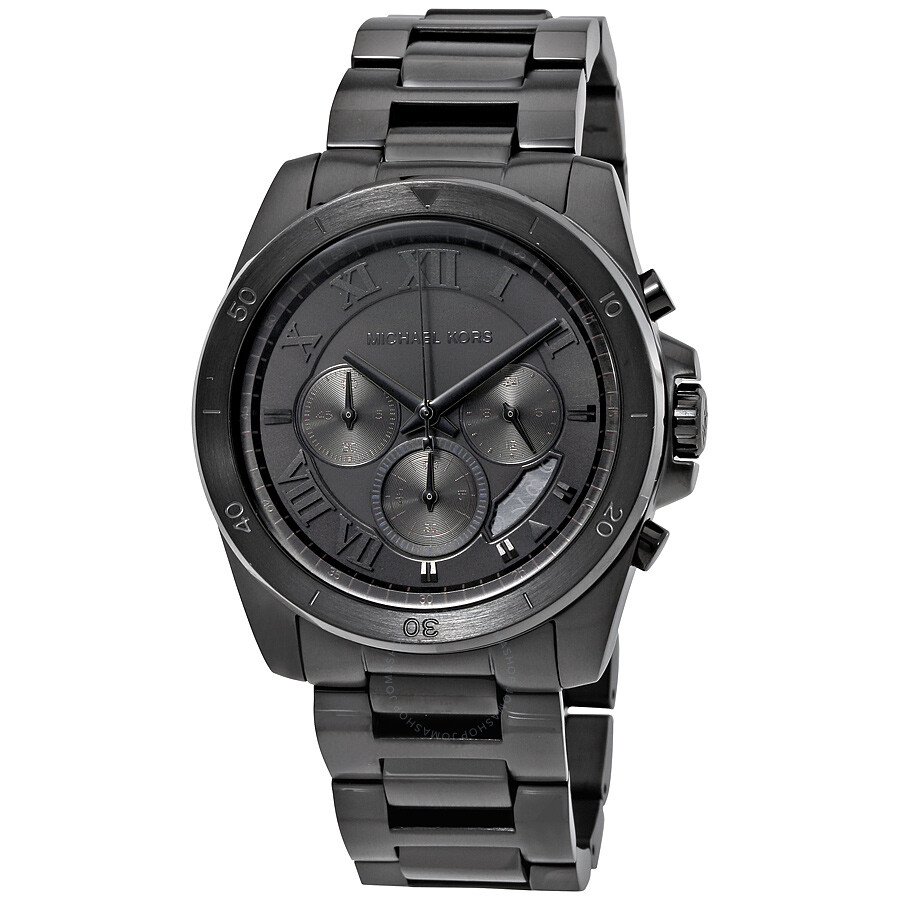 Michael kors brecken chronograph men 39 s watch mk8482 brecken michael kors watches jomashop for Watches michael kors