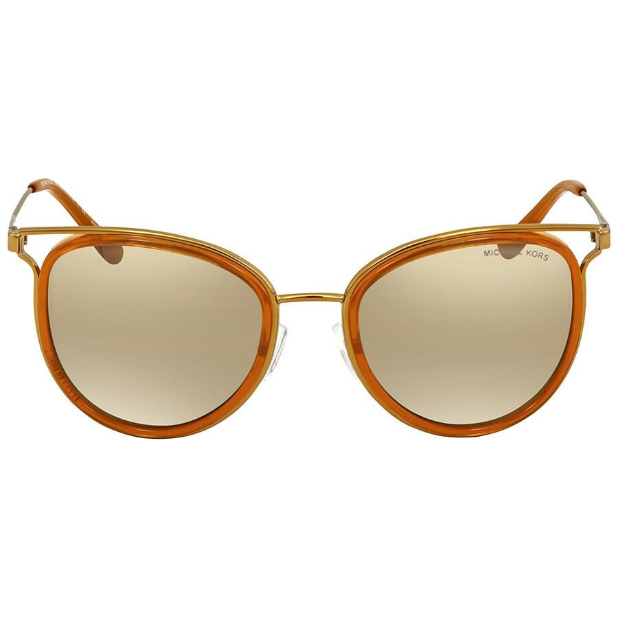 a0b6a469ba ... Michael Kors Round Sunglasses MK1025 12037I 52 ...