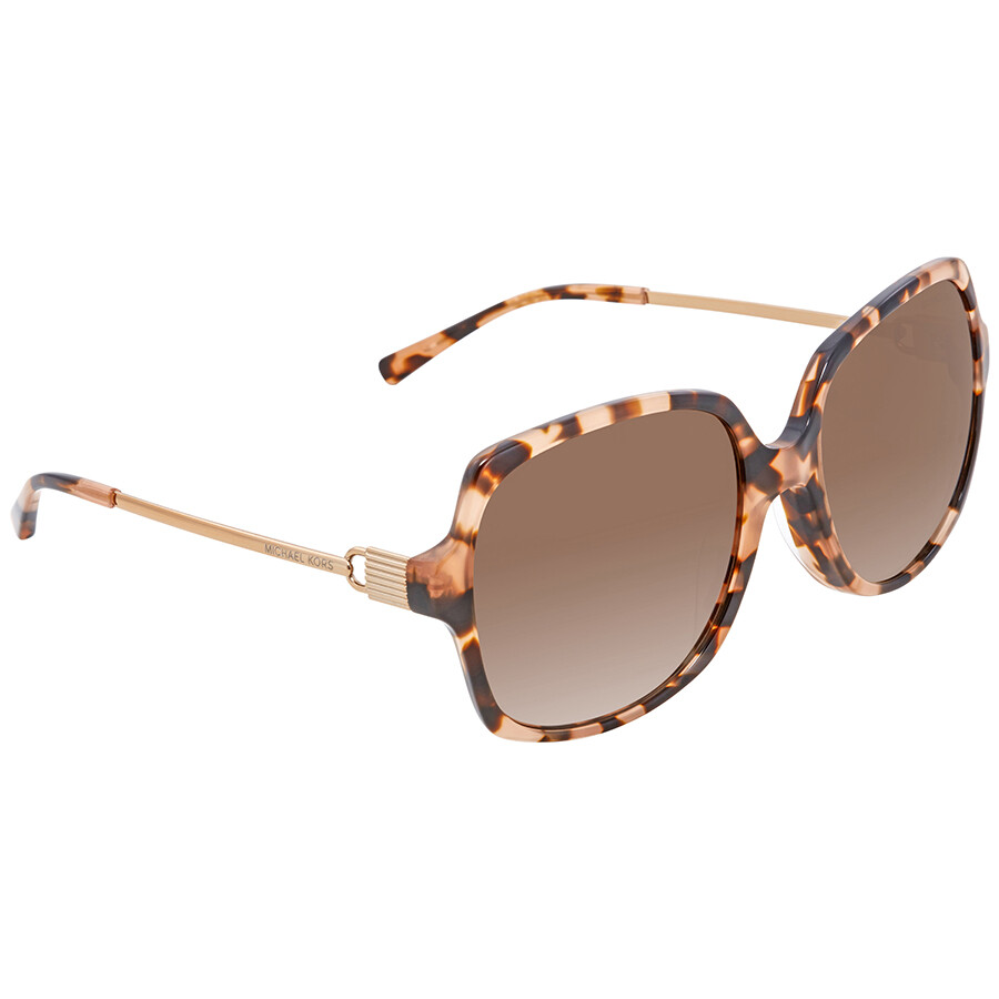02638d9137 Michael Kors Square Ladies Sunglasses MK2053F-315513-58 - Michael ...