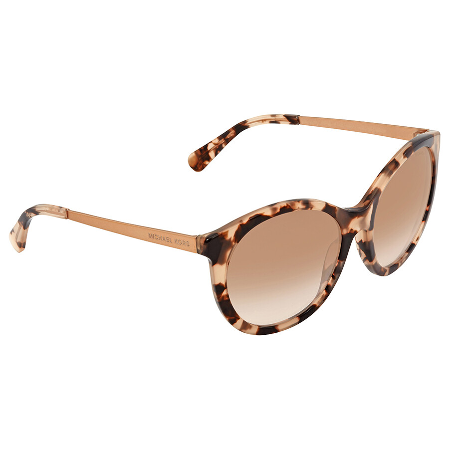 db5a09182c Michael Kors Round Ladies Sunglasses MK2034-320513-55 - Michael Kors ...