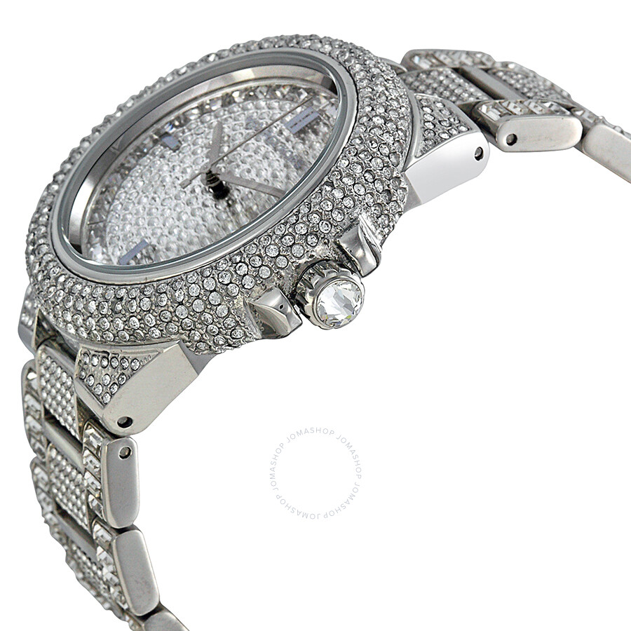 e5308a204ada ... Michael Kors Camile Crystal Pave Dial Crystal Encrusted Ladies Watch  MK5869 ...