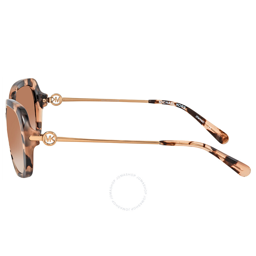 5c3f3d9d24243 Michael Kors Carmel Rectangular Ladies Sunglasses MK2065 302613 54 ...