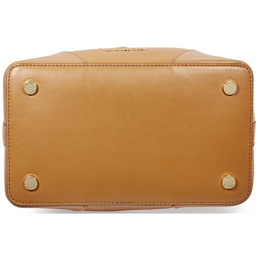 a15cc5afdc71ba Michael Kors Cary Medium Pebbled Leather Bucket Bag- Acorn - Michael ...
