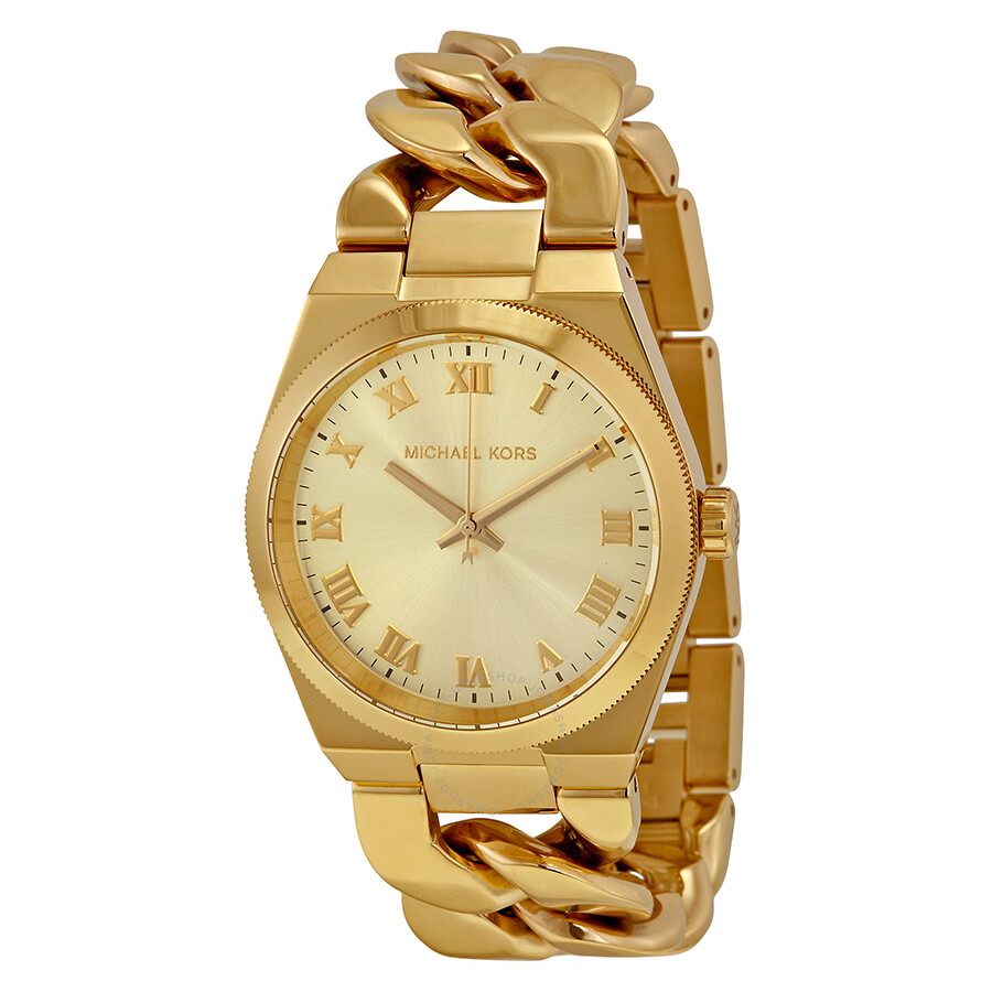 GoldTone Watches  Womens Watches  Michael Kors