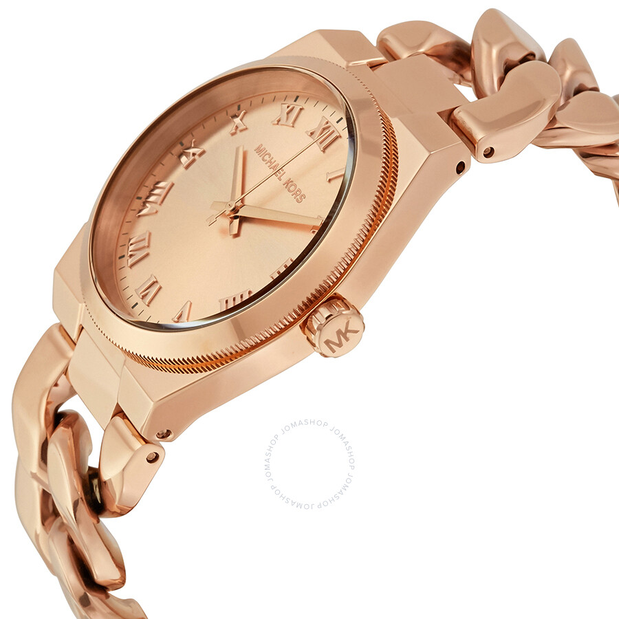 michael kors channing rose dial ladies watch mk3414 channing michael kors watches jomashop. Black Bedroom Furniture Sets. Home Design Ideas