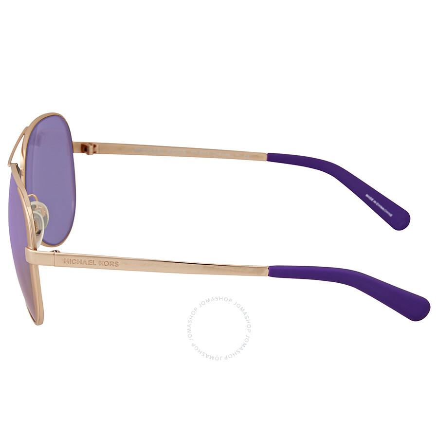 2f980065253 Buy michael kors gold mirrored aviator sunglasses   OFF57% Discounted