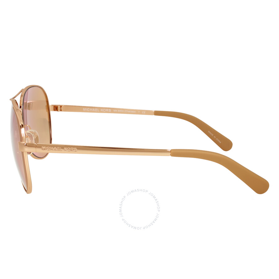 fe88a4d702 Michael Kors Chelsea Aviator Sunglasses - Rose Gold Taupe - Michael ...