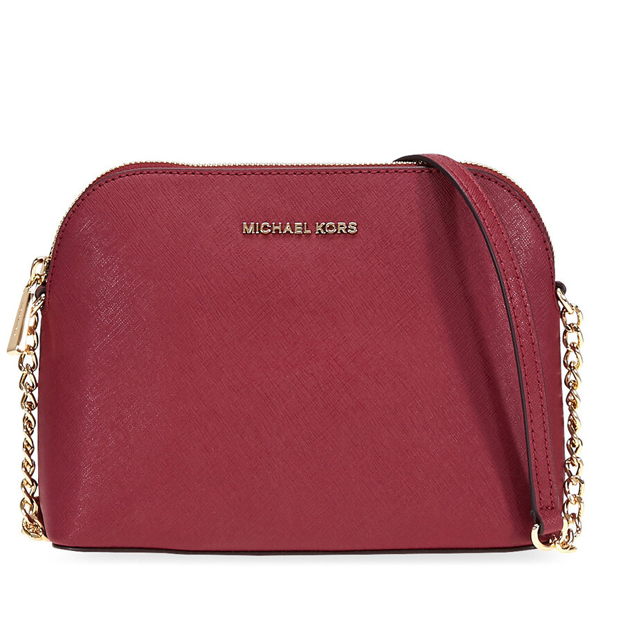 6ac9fe68d726 Michael Kors Cindy Large Crossbody Bag- Mulberry - Jomashop