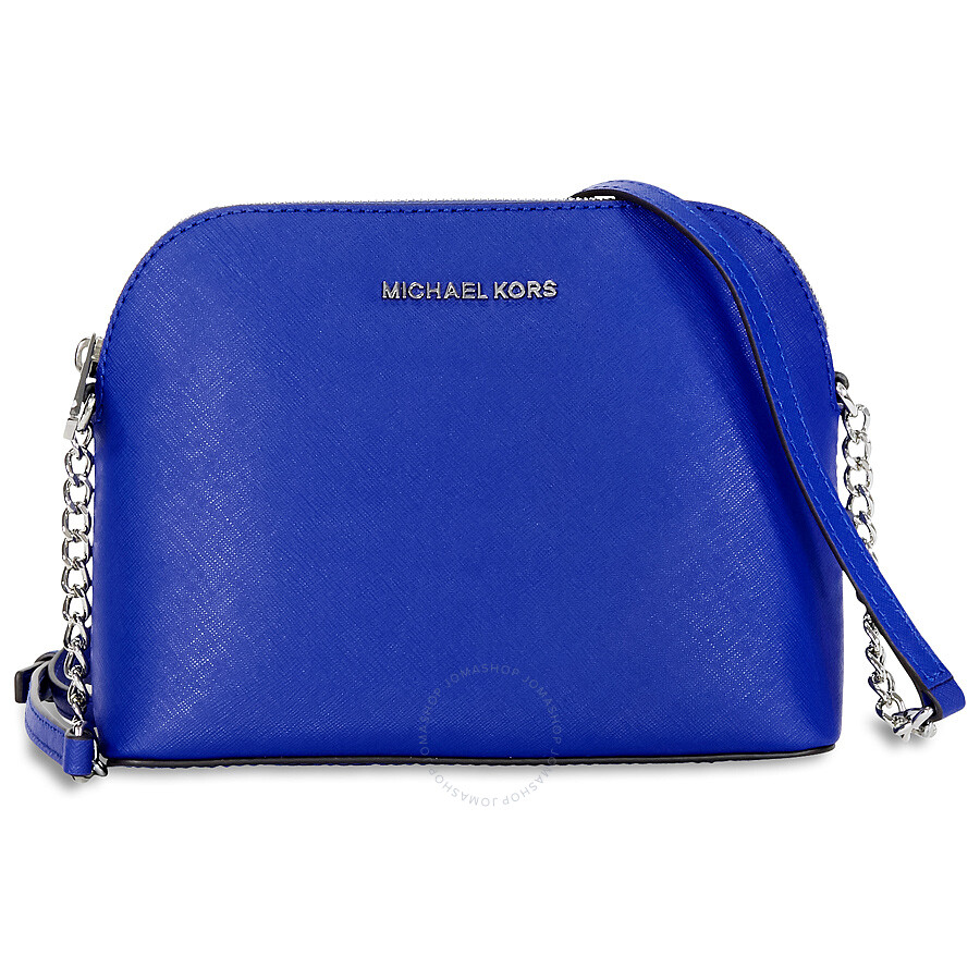b911cea86b55 Michael Kors Cindy Large Saffiano Leather Crossbody - Electric Blue Item  No. 32H4SCPC7L