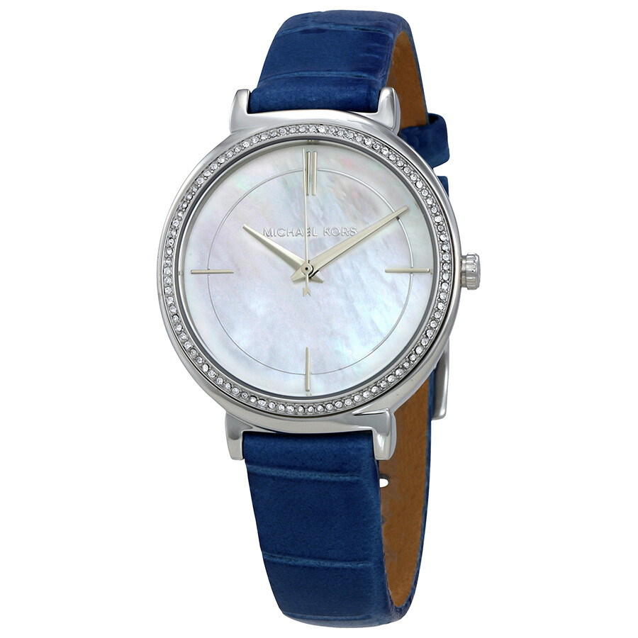 michael kors cinthia mother of pearl dial ladies watch mk2661 michael kors watches jomashop. Black Bedroom Furniture Sets. Home Design Ideas