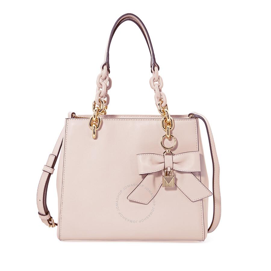 fc1d9eb93e57 Michael Kors Cynthia Small Convertible Satchel - Soft Pink - Cynthia ...