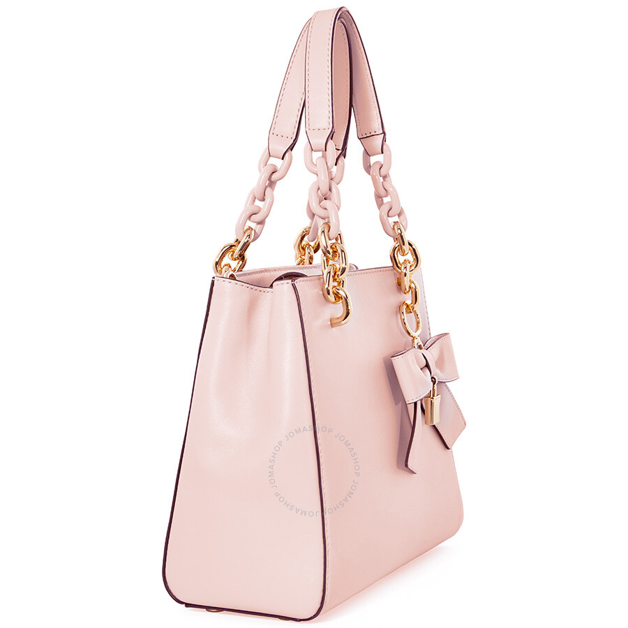 2e9c6aaef3d4 Michael Kors Cynthia Small Convertible Satchel - Soft Pink - Cynthia ...