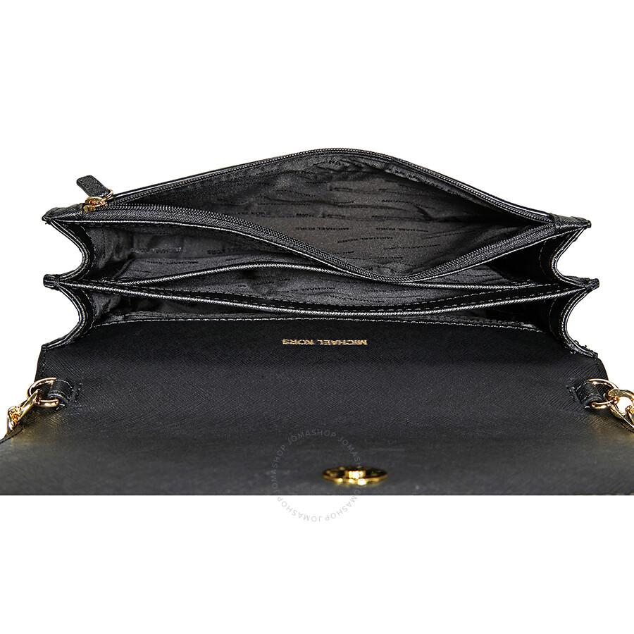 aa89b6814b54 Michael Kors Daniela Large Crossbody- Black - Michael Kors Handbags ...