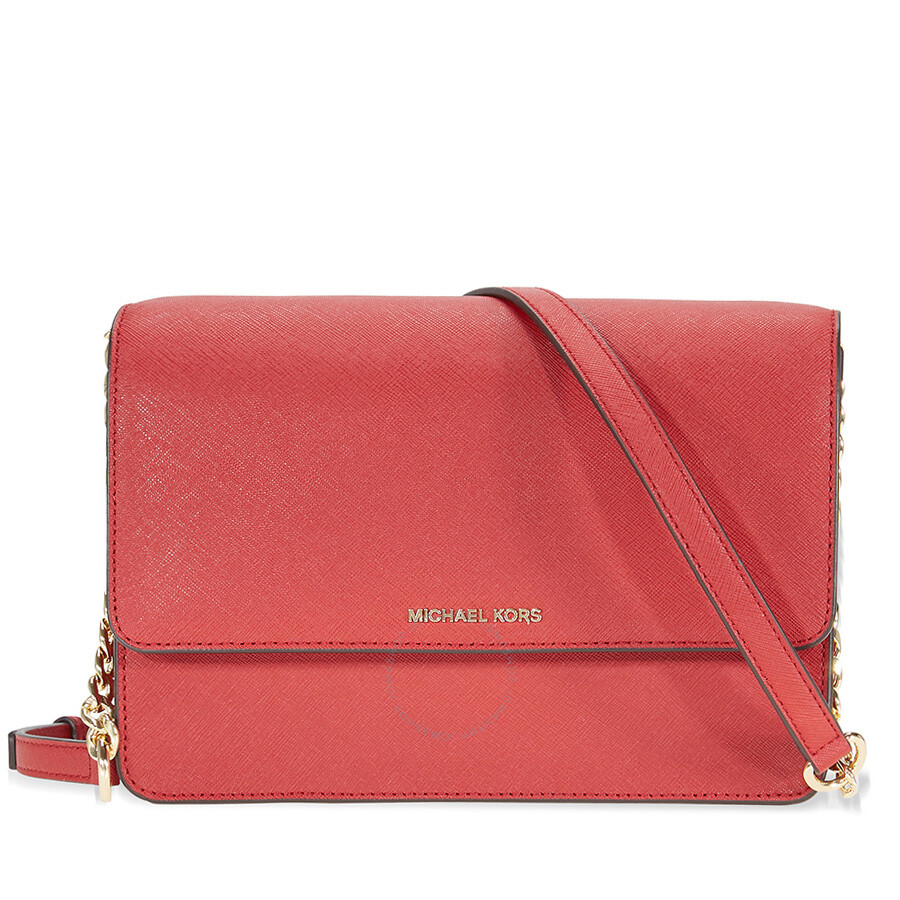 dd5bdd53b2ca Michael Kors Daniela Large Crossbody- Burnt Red Item No. MK32T6GDDC3L-361