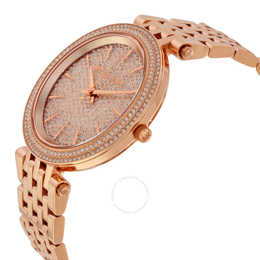 c73e69c06859 Michael Kors Darci Crystal Pave Dial Ladies Watch MK3439 - Darci ...