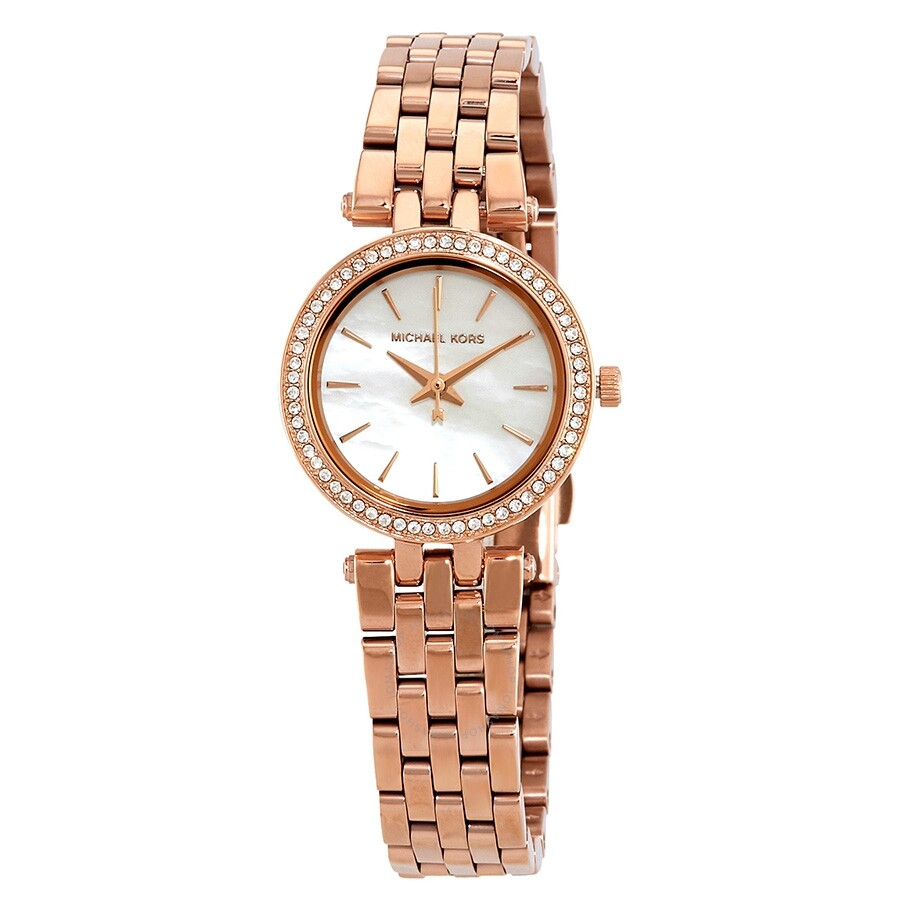 fe0a471d0e09 Michael Kors Darci Mother of Pearl Dial Ladies Watch MK3832 - Darci ...