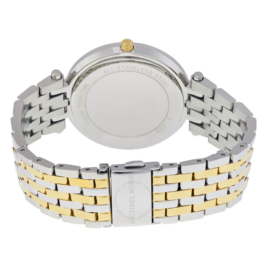 7e5c6cc06c2f Michael Kors Darci Silver Dial Two-tone Ladies Watch MK3215 - Darci ...