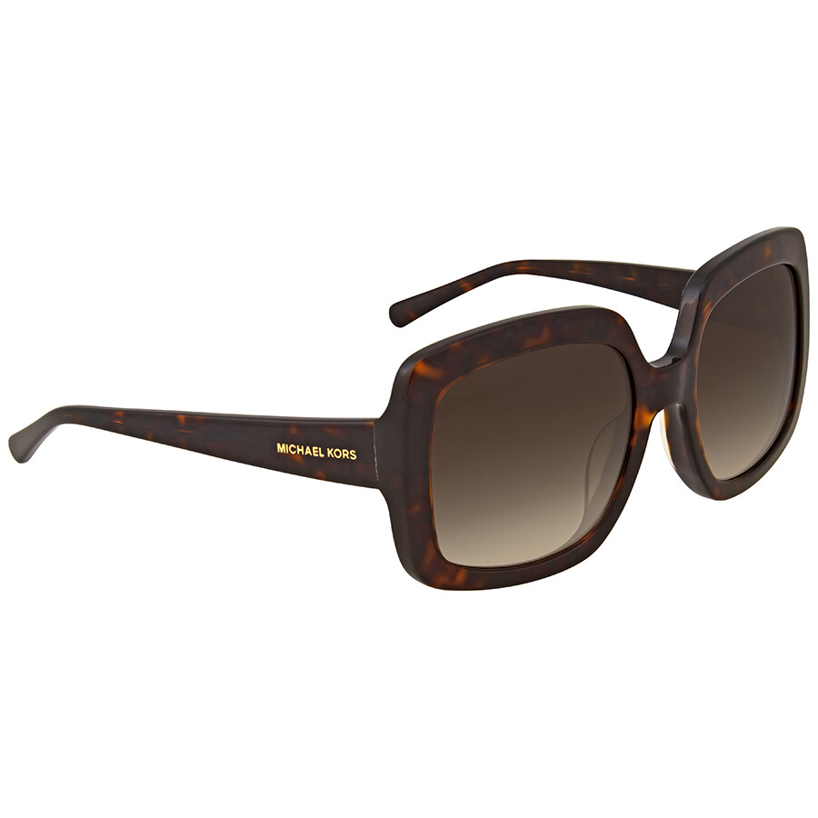 bb15e8820809 Michael Kors Dark Tortoise Square Sunglasses - Michael Kors ...