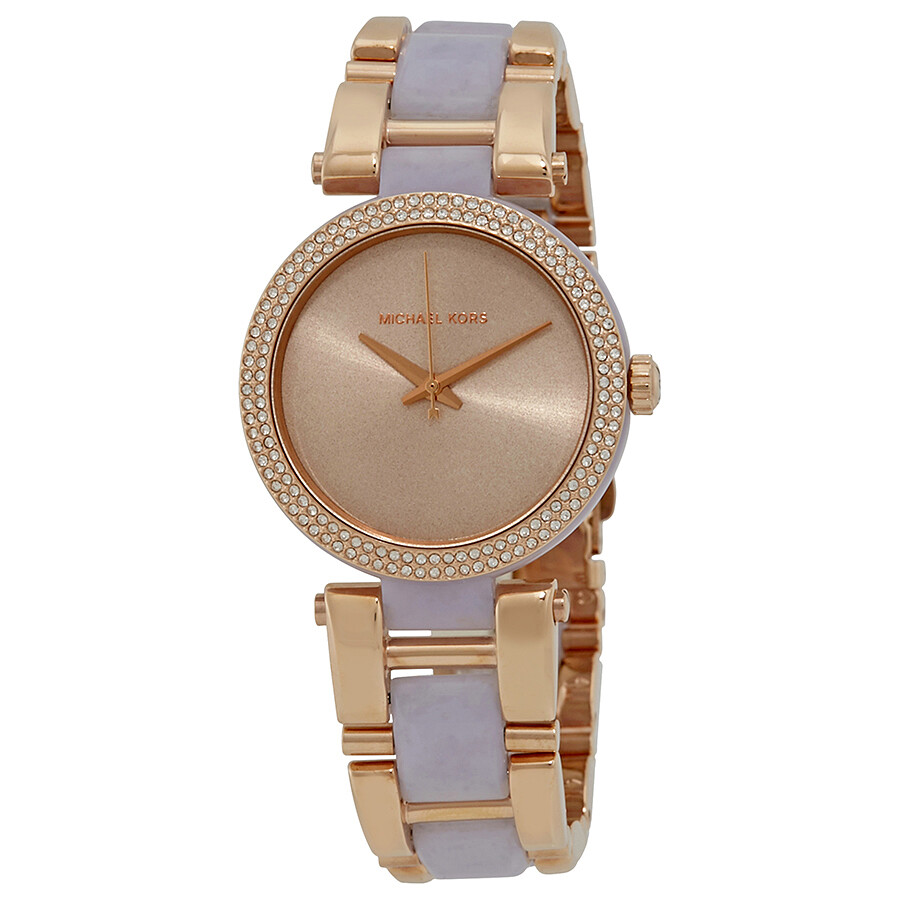 Michael kors delray ladies watch mk4319 delray michael kors watches jomashop for Watches michael kors